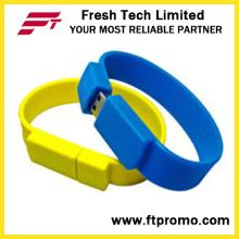Silicon pulsera USB Flash Drive (D192)