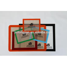 It can be customized Non stick Heat resistant Reusable Siliconebaking mats