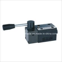 Направляющие клапаны серии Dm с ручным управлением (DMG-02)