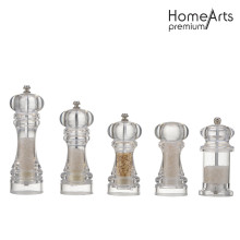 Glass Hand Pepper&Salt Mill Set