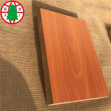 Factory Wholesale PriceList for White Melamine MDF melamine board MDF panel for cabinet door supply to New Zealand Importers