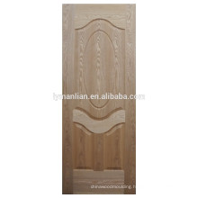 Molded MDF natural Wood Veneer Door Skin