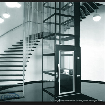 Electric House Glass Small Home Elevator Lift