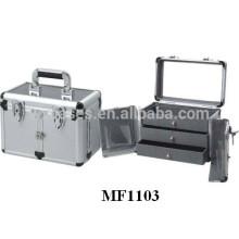 Friseur Aluminiumgehäuse mit 3 Schubladen in hoher Qualität