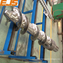 customize screws and barrels for rubber machine