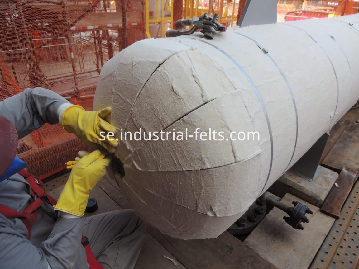 Aerogel High Temperature Insulation Pipe Material