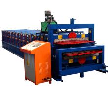 1000-900 máquina de prensagem de camada dupla de camada dupla de controle de computador botou city / equipamento de deck duplo para cobertura de metal