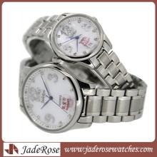 Der Trend der Mode-Paar-Uhr. Alle Edelstahl Uhr
