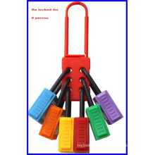 Insulation Nylon lockout hasp with CE Marked