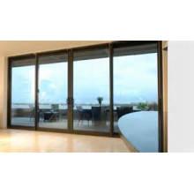 Abertura generosa de vidros duplos Janelas de alumínio e portas