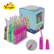 Lighting Finger Nail Lollipop Candy Toy