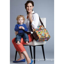Diaper Bag, Can Be Used as a Shoulder Bag, Custom Designs Are Highly Welcome.