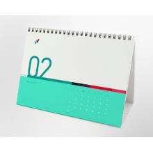 Offsetdruck kundenspezifischer Briefpapier-Tischkalender