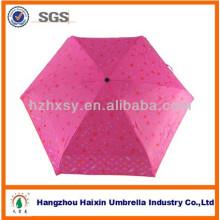 Portable Mini benutzerdefinierte Mini Regenschirm Kinder Regenschirm mit einem großen