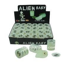 Novidade Funny Alien Baby Noise Putty Slime Toy