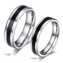 Anillos de bodas falsos baratos, nuevo anillo de bodas modelo de la manera