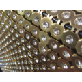 New Style Hot Fix Rhinestone Golden Trim 45*120cm