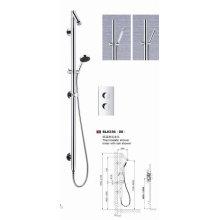Ensemble de douche Robinet de douche de luxe avec style moderne