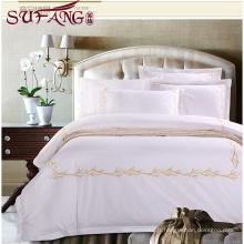 Hôtel de luxe Usine Directement Haute 100% coton Super doux coton lin literie top 5 luxe 5 étoiles hôtel ménage literie s