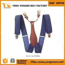 Ultimamente Design Custom Elastic Metal Suspender Clips Belt