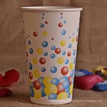 Tasse en papier à paroi simple de 20 oz