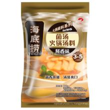 Приготовление горячего горшка с супом из грибов (суп)