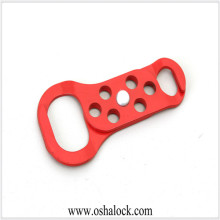 Double-end Aluminum Steel Hasp