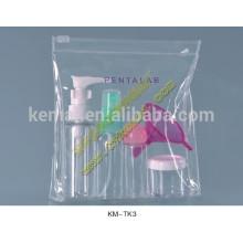 6piece cosmético empaquetado botella de viaje conjunto