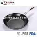 New alumiunm hard anodized fry pan with stainless steel handle