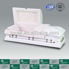 Cercueils en bois blancs