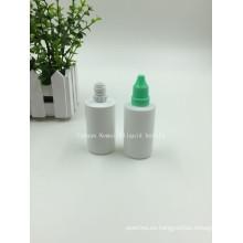 40ml E Botella líquida con tapa de prueba de manipulación y anillo de manipulación