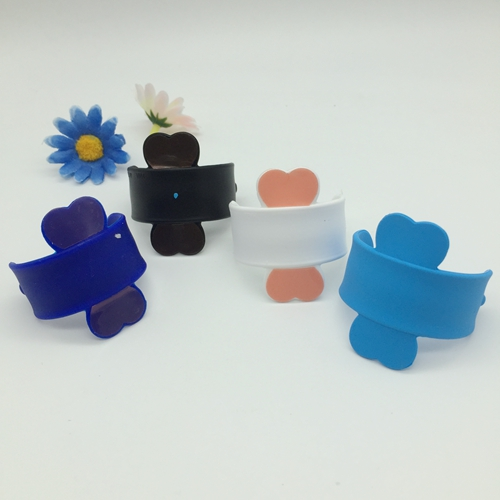 U shape silicone cell phone holder