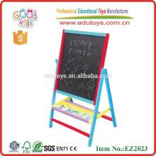 Placa educativa de escrita de brinquedos de madeira