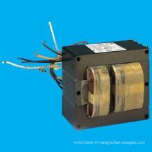Ballast approuvé par UL pour la lampe aux halogénures métalliques à impulsions 200 à 1000w