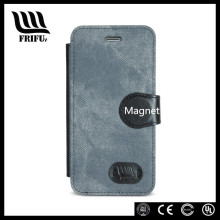 Powerful magnet flip mobile phone case for iphone 6 6s
