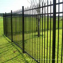 Barato decorativo de hierro forjado o valla de aluminio