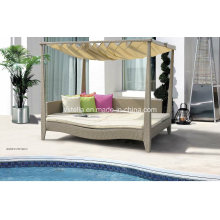 Outdoor Patio Garden Rattan Outdoor Daybed