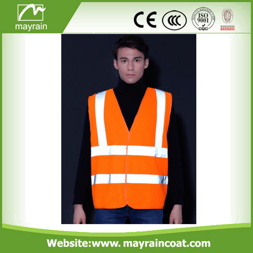 Green And Orange color Safety Vest
