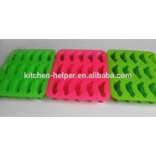 Nouveau produit Formule de matrice de glace à la grille de qualité professionnelle Forme de voiture Moules à glace en silicone à vendre / Bac à glace en silicone