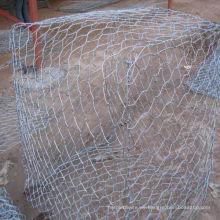 2X1X1 Gabion Box zum Verkauf / Wire Cages Rock Stützmauer