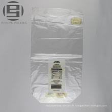 Sacs en plastique d'emballage de pain de LDPE imprimés