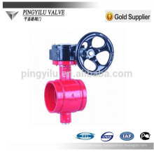 china manufacturer trench type butterfly valve