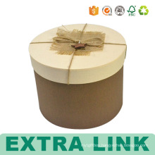 Custom Rounded Paper Boxes Boutique Round Box Template