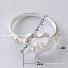 2015 Gets.com 925 sterling silver stainless steel boys finger rings