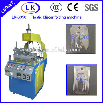 new design blister and clamshell edge bending machine