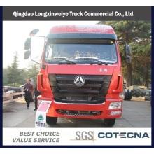 Camión de carga Sinerruk Man Engine J5g 8X4 Van Cargo