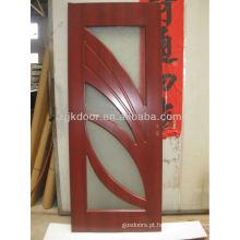 Porta pvc de estilo turquia com vidro