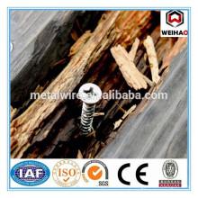 Производство деревянных винтовых гвоздей в Китае