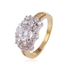 Xuping Горячее продавая роскошное Multicolor кольцо с белым камнем CZ