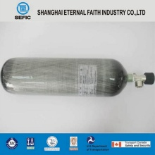 High Pressure Seamless Aluminum Diving Oxygen Cylinder